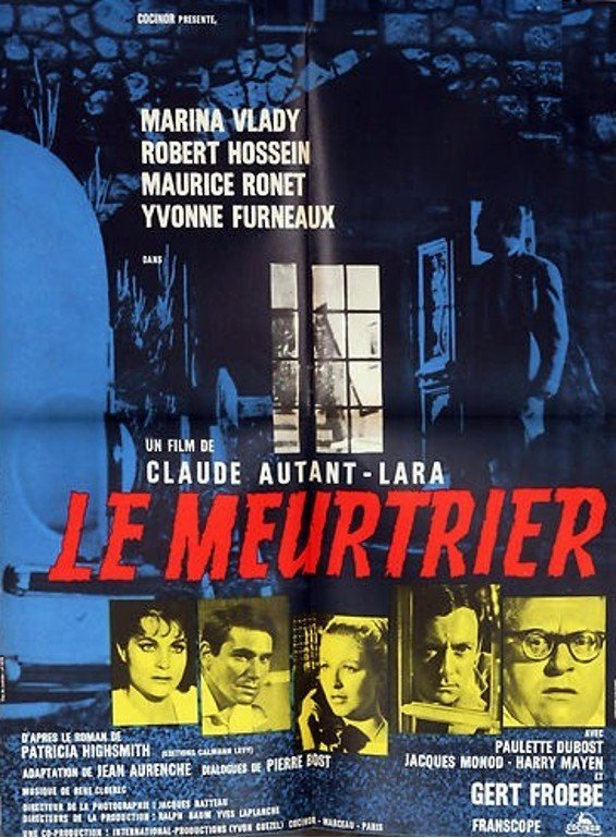 Le Meurtrier Poster